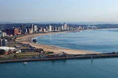 View of Durban Durban South Africa, Pretoria, City Lights, East Coast, Art Images, South America, Landscape Photography, Virginia, Beautiful Places