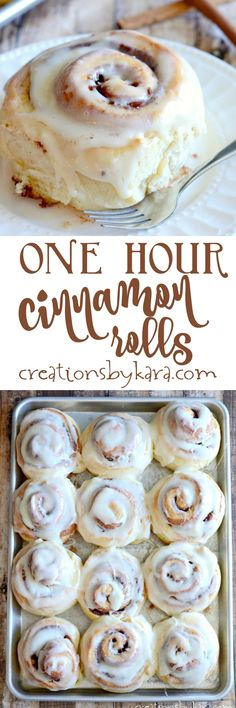 Recipe for absolutely scrumptious cinnamon rolls that are ready in one hour! Recipe for absolutely scrumptious cinnamon rolls that are ready in one hour! Source by cleanscentsible Mini Desserts, Delicious Desserts, Yummy Food, Oreo Dessert, Quick Cinnamon Rolls, Cinnamon Recipe, Baking Recipes, Dessert Recipes, Cake Recipes