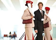Emirates flight crew