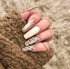 Nail Designs nail designs for fall nail designs for summer gel nail designs 2019 Leopard Nail Designs, Nail Art Designs, Cute Nails, Pretty Nails, Jolie Nail Art, Leopard Print Nails, Red Leopard, Nail Designer, Diva Nails