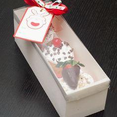 Caja de cupcakes de 3 unidades