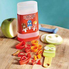 """Conjunto utensilios """"personajes"""" para decorar helados Zoku"""