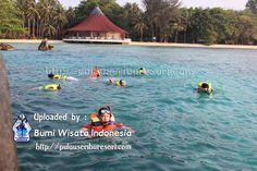 Snorkeling at Pantara Island - Pulau Seribu. http://pulauseriburesort.com