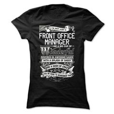 Front Office Manager T-Shirts, Hoodies, Sweatshirts, Tee Shirts (21.99$ ==► Shopping Now!)