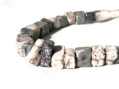 Tribal ceramic necklace from ceramicmanya on Etsy