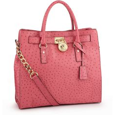 MICHAEL Michael Kors Hamilton North-South Tote ($398) ❤ liked on Polyvore