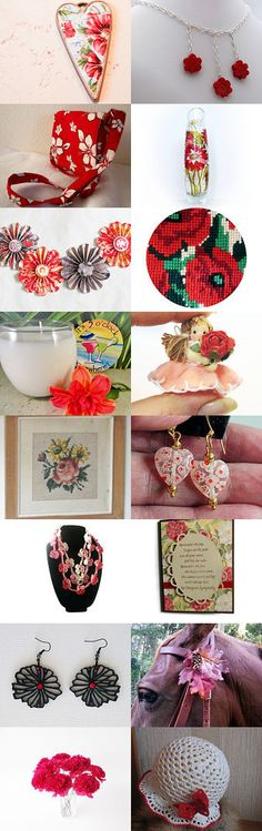 Field of Flowers by Tommye on Etsy--Pinned with TreasuryPin.com #floralgiftguide
