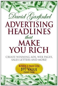 Advertising Headlines that Make You Rich by David Garfinkel – A list of headlines that historically work for advertisements.  It's nice to have a collection to reference. - http://lionroot.com/indiedev-education/indiedev-marketer/