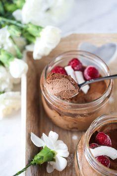 Mus czekoladowy na mleku kokosowym