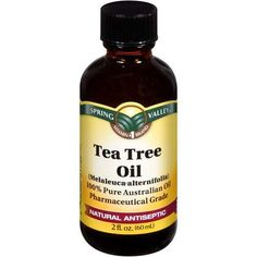 Tea Tree Oil, love this natural product