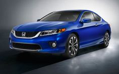 2015 Honda Accord Coupe Blue