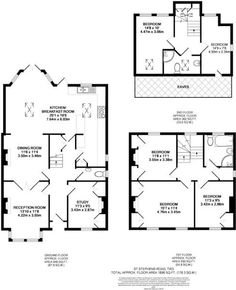 Apartment Design Architecture Layout Floor Plans Ideas For 2019 Victorian House Plans, Edwardian House, Victorian Homes, 1930s House, The Plan, How To Plan, Cottage Floor Plans, House Floor Plans, Apartment Layout