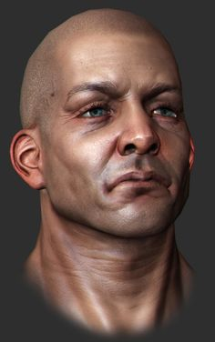 head bust zbrush