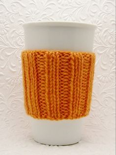 FREE Masala Cup Cozy Knitting Pattern PDF Instant Download