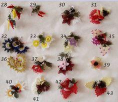 2012 2012  Birbirinden güzel İğne oyası örnekleri Bead Crochet, Crochet Hooks, Crochet Flowers, Fabric Flowers, Crochet Unique, Turkish Art, Tatting Patterns, Needle Lace, Crochet Accessories