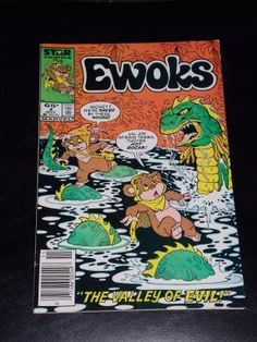Vintage 1985 Marvel Ewoks Comic Book # 4 Free Shipping  $15.99
