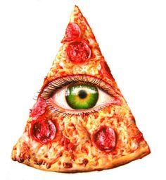 Illuminati with cheese