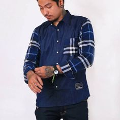 REBEL CLOTH CHAMBRAY
