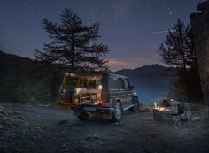 mercedes-benz G-box camper QUQUQU: it effectively transforms the iconic 4x4 into the 'G-camper'.