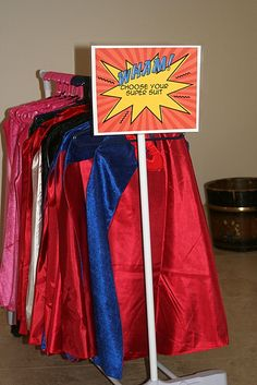 Party Wishes: Superhero Party - cute craft and game ideas.
