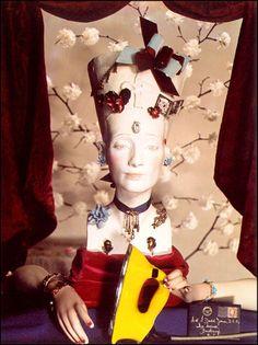 Yevonde Portrait Archive - Still Life Gallery - Bust of Nefertiti 1938