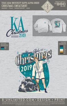 Texas A&M Kappa Alpha Order Christmas Sweatshirt | Fraternity Event | Greek Event #kappaalphaorder #kappaalpha #theorder #ka #christmas #aggies Kappa Alpha Order, 5th Dimension, Texas A&m, Fraternity, Christmas 2019, Greek, Holidays, Sweatshirts, Artwork