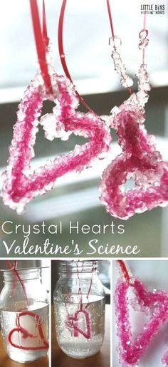 Valentine\'s Day Printmaking Craft with Pipe Cleaners   Fun easy ...