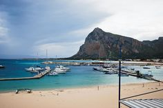 San Vito Lo Capo in Sicily, Italy! Famous for the turquoise waters and the Mediterranean food!