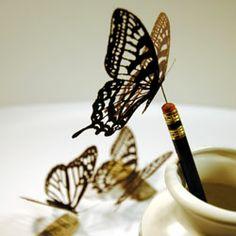 Lasercut Paper Butterflys