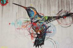 Flying to Freedom: 10 Street Artists Who Love to Paint Birds ...