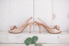 wedding shoes - photo by Michelle Gardella Photography http://ruffledblog.com/romantic-seaside-wedding