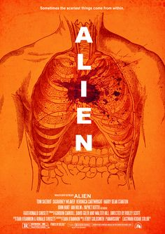 Alien (1979) During its return to the earth, commercial spaceship Nostromo intercepts a distress signal from a distant planet. When a three-member team of the crew discovers a chamber containing thousands of eggs on the planet, a creature inside one of the eggs attacks an explorer. The entire crew is unaware of the impending nightmare set to descend upon them when the alien parasite planted inside its unfortunate host is birthed.