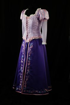 Adult Rapunzel Custom. $700.00, via Etsy. These costumes actually look like the movies. They have almost all the disney princess costumes.