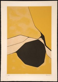 Pablo Palazuelo - Untitled, Color Screenprint