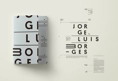 Proyecto realizado para la cátedra Longinotti II de tipografía. 2016.