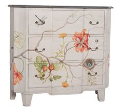 Devon Chest (floral art)