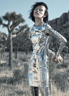 Ranya Mordanova for Tank Magazine Summer 2011 by Jamie Isaia silver