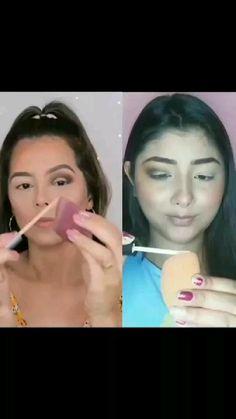 Cut Crease Makeup, Girl Life Hacks, Makeup Techniques, Colorful Makeup, Makeup Tips, Videos, Hair, Make Up Tips, Strengthen Hair