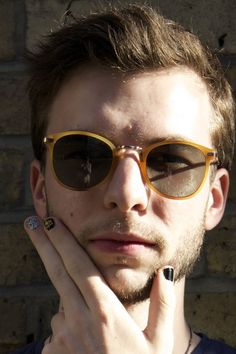Male nail art trend - male nail art bloggers - Celebrity News & Gossip - Glamour.com (Glamour.com UK)