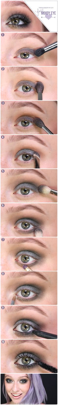 Transition into Fall with this moody eye!