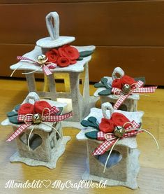 Faroles en fieltro - Dale Detalles Christmas Lanterns, Christmas Ornament Crafts, Holiday Crafts, Holiday Decor, Fun Crafts For Kids, Crafts To Do, Felt Crafts, Lantern Crafts, Big Shot