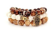 Hey, I found this really awesome Etsy listing at https://www.etsy.com/listing/163105768/buddha-bracelet-set-spiritual-jewelry
