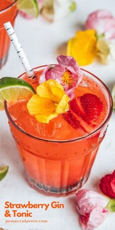 Summer cocktails are simple. They need to be bubbly, colorful and delicious! Tropical Drink Recipes, Frozen Drink Recipes, Gin Recipes, Alcohol Drink Recipes, Frozen Drinks, Winter Cocktails, Easy Cocktails, Summer Drinks, Cocktail Recipes