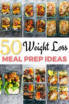 Weight Loss Meals, Healthy Dinner Recipes For Weight Loss, Easy Healthy Meal Prep, Best Meal Prep, Easy Healthy Recipes, Lunch Recipes, Healthy Eating, Meal Prep For The Week Low Carb, Weight Loss Food Plan