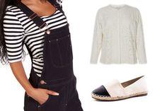 Wir lieben Latzhosen! Und entspannte Outfits. In diesem Plus Size Outfits vereinen sich die zwei Aspekte rund um die schöne Spitzenbluse. We love <3