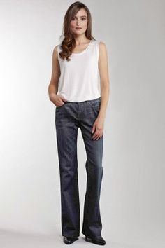 Nicola Boot Cut Deep Waterford Jean