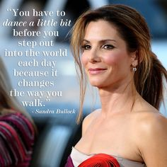 Best high school graduation surprise EVER! Thank you for the inspiring words, Sandra Bullock.