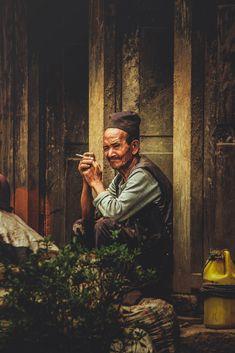 An Old man from Nepal Enjoying Smoking Travel Nepal, Adventure Awaits, Trekking, Smoking, Vacation, Explore, Vacations, Holidays Music, Tobacco Smoking