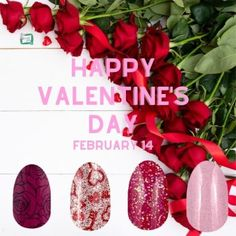 February Colors, National Days, Nail Polish Strips, Color Street Nails, Mani Pedi, Happy Valentines Day, Promotion, Graphics, Facebook