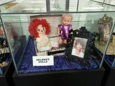 Selena's dolls I went to her museum